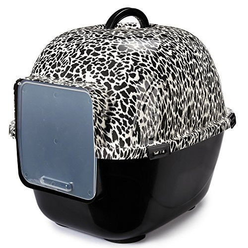 Savvy Tabby Wild Time Cat Litter Boxes Covered Litter