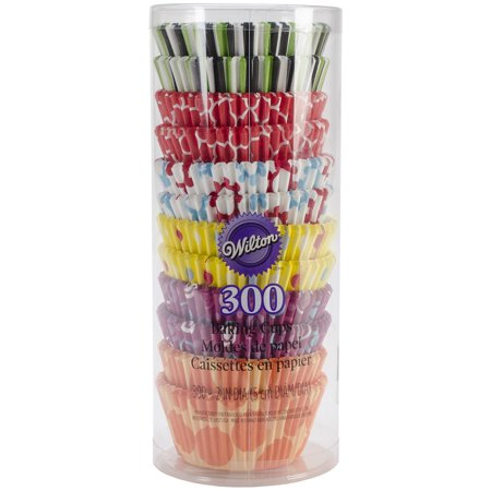 Wilton Cupcake Liner Party Pack, 300 Ct