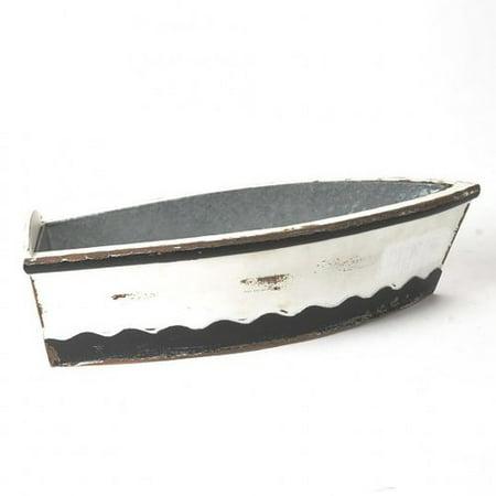 Highland Dunes Houlihan Boat Wood Planter Box