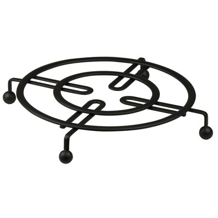 - Home Basics Black Flat Wire Table Trivet 8.25