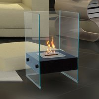 Anywhere Fireplace Hudson Indoor / Outdoor Floor Standing Fireplace