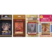 NBA Houston Rockets 4 Different Licensed Trading Card Team Sets