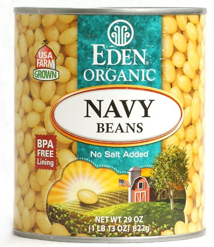 Eden Foods Organic Navy Beans 29 oz by Eden Foods