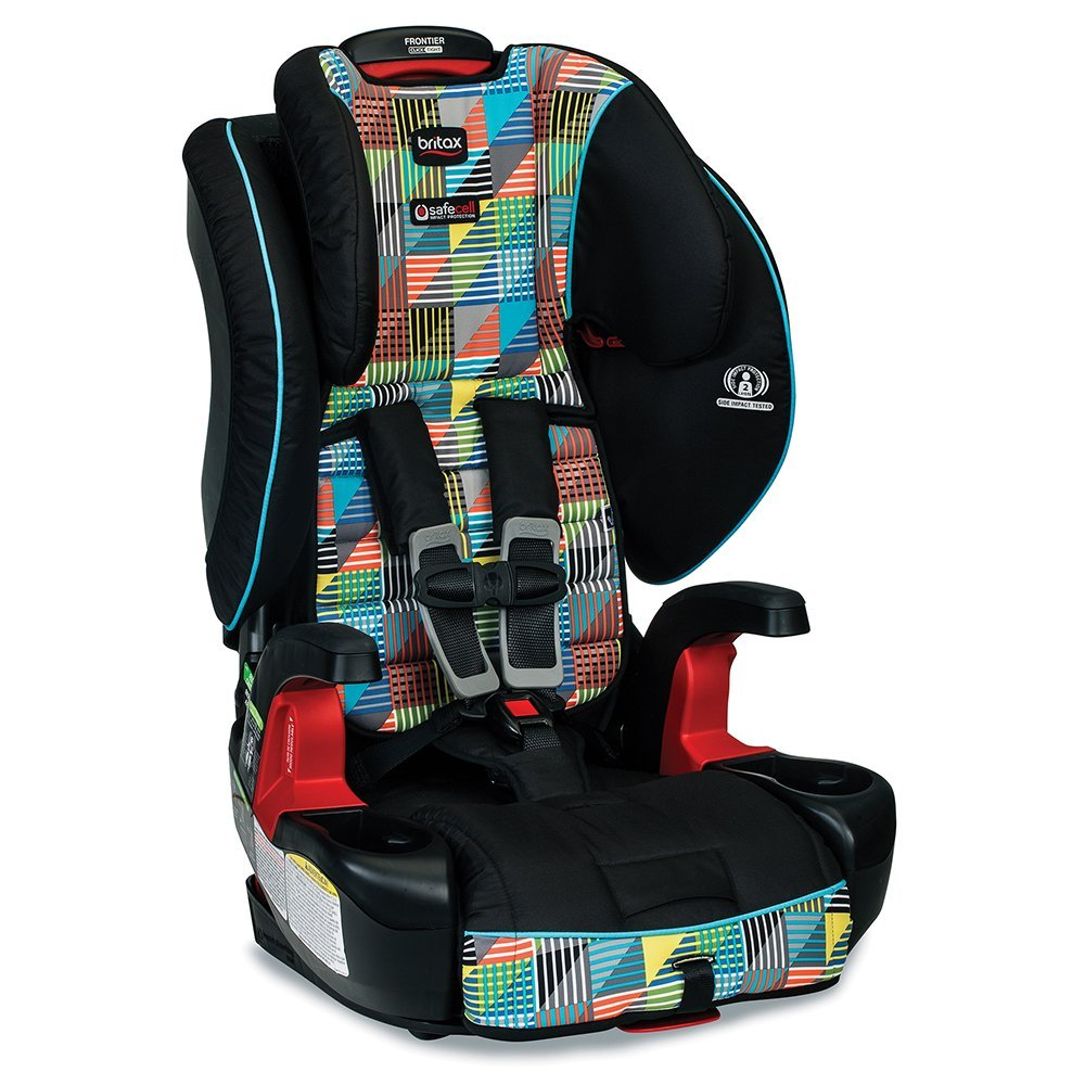 Britax Frontier G1.1 Clicktight Harness Booster Car Seat, Vector