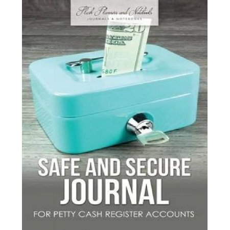 safe and secure journal for petty cash register accounts walmart com