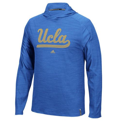 Men's adidas Blue UCLA Bruins Sideline Training climalite Hoodie