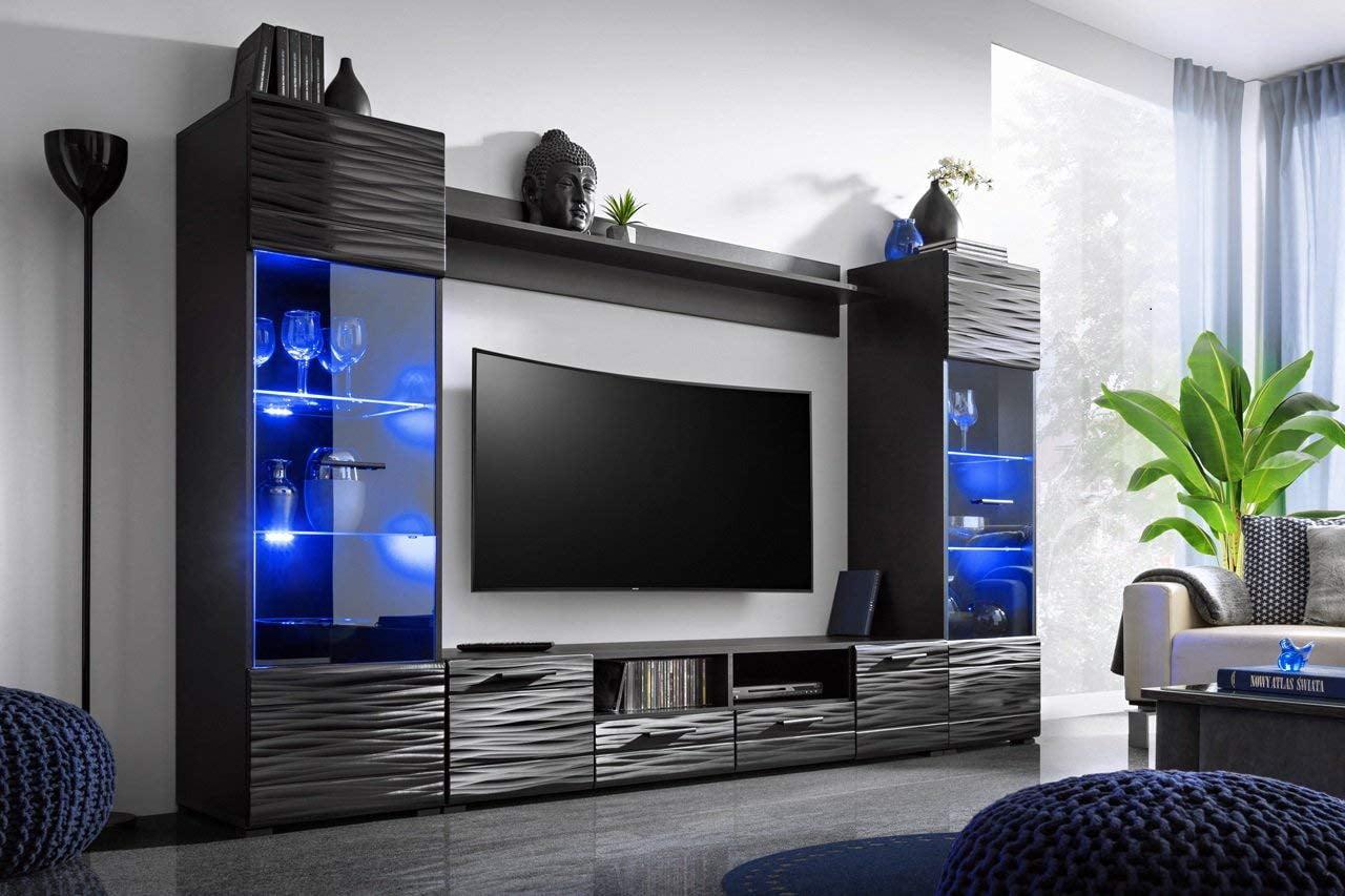 Modica Modern Entertainment Center, Living Room Entertainment Center