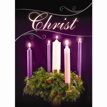 Banner-Christmas-Advent-Christ (2' x 3') (Indoor)