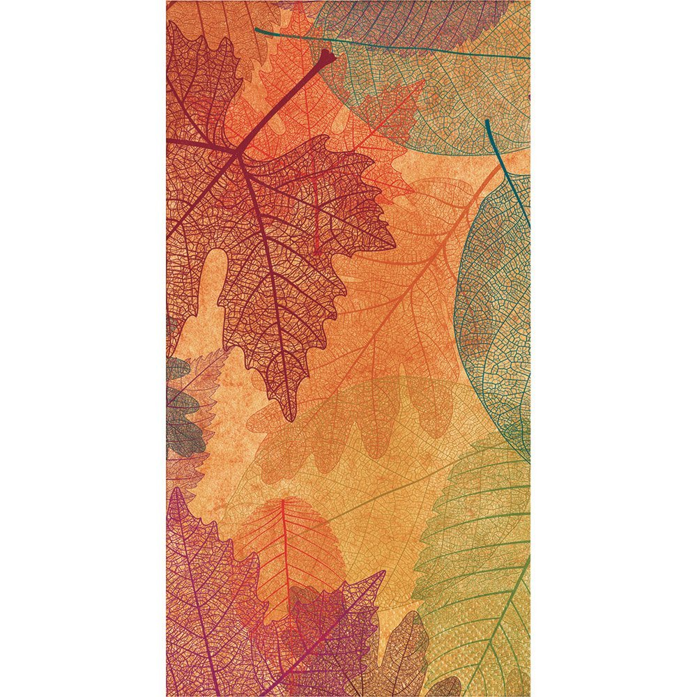 Burnished Leaves 16 Count Guest Towel Paper Napkins