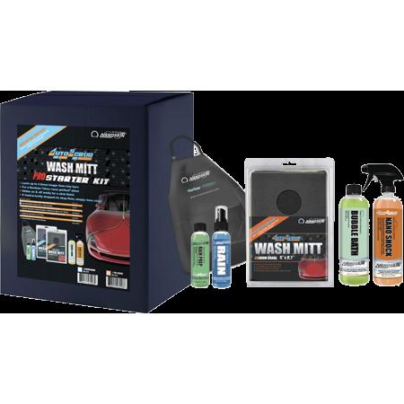 - Nanoskin (AS-022) AUTOSCRUB Medium Grade Wash Mitt Pro Starter Kit