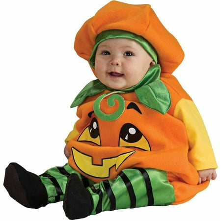 Pumpkin Jumper Infant Halloween Costume - Easy Pumpkin Halloween Costume