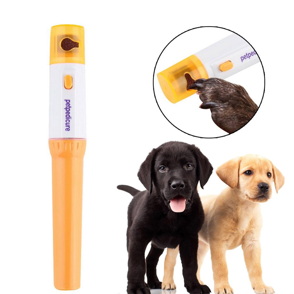Jeobest Pet Nail Grinder - Pet Nail Trimmer - Pet Nail Clippers - Electric Pet Nail Grinder - Dog Cat Pet Nail Grinder Trimmer Clipper Electric Pet Grooming Clipper Tool Nail Trimmer Grooming Tool