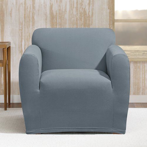 Sure Fit Stretch Morgan Box Cushion Armchair Slipcover