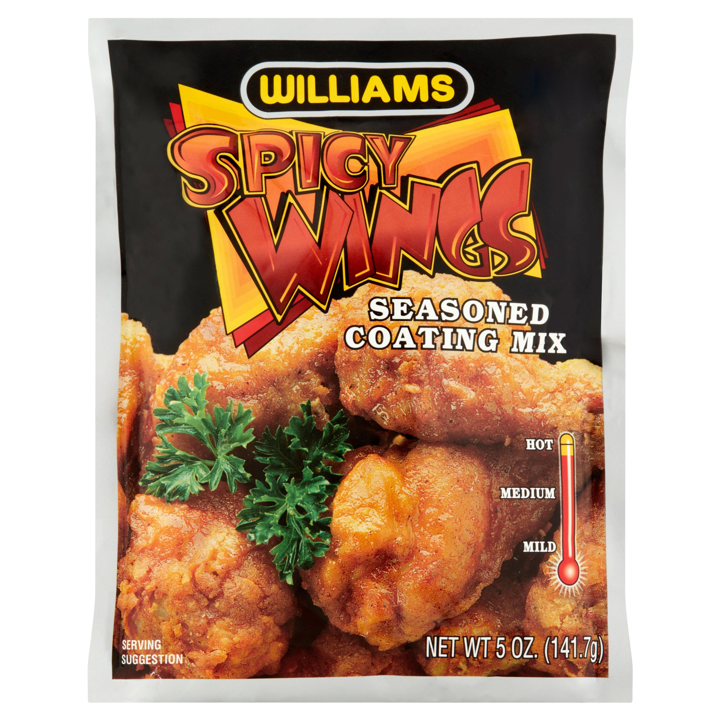 Williams Spicy Wings Seasoned Coating Mix, 5 oz