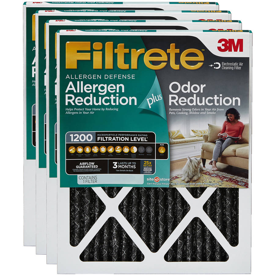 One Years Supply 10x24x1 Magnet by FiltersUSA 1-Inch Filter 9.5 x 23.5 MERV 6 4 filter pack