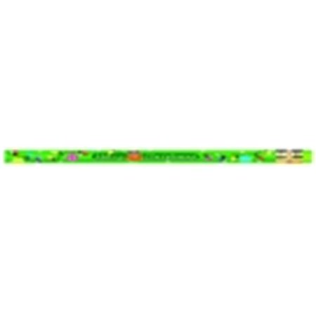 Fun & Merry Christmas Glitz Award Pencil With Erasers, Pack 12