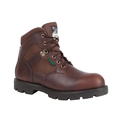 "Men's Georgia Boot G105 6"" Homeland Steel Toe WP Work Boot by Georgia Boot"