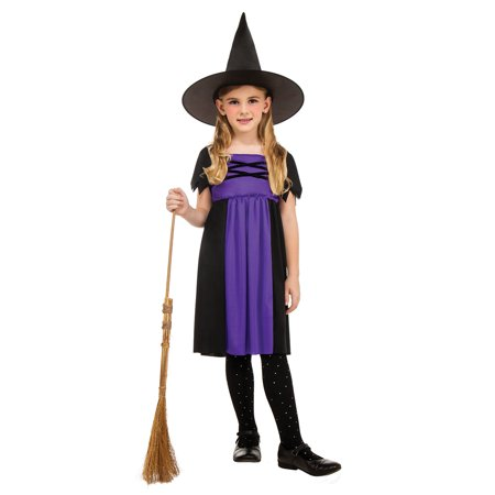 Girls Witch Halloween Costume and Wizard - Witch Costume For Girl