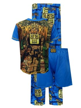 Temple Run Blue 3 Piece Pajamas