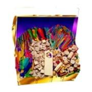 Hygloss Wood Assorted Shape Treasure Box