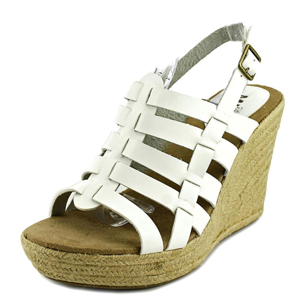 Mia Girl Women's  Basket Espadrille Wedge Sandal
