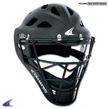Performance Catcher's Hockey Style Headgear- Youth 6 1 2-7, Black by Champro