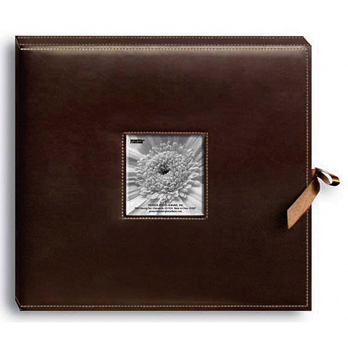 Pioneer Sewn Leatherette D-Ring Scrapbook Box
