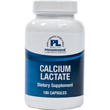 Progressive Labs  Calcium Lactate 115 Mg 100 Caps