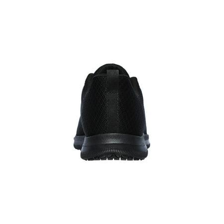 Skechers Work Women's Ghenter - Bronaugh Slip Resistant Athletic Work Shoes