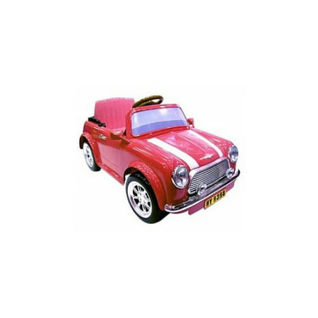pink mini cooper 6 volt battery operated. Black Bedroom Furniture Sets. Home Design Ideas