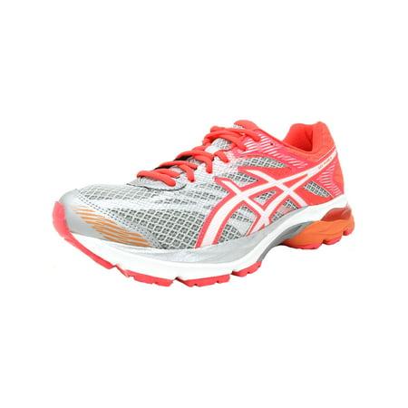 ca9b1f56eeb ASICS - Asics Women s Gel-Flux 4 Mid Grey   White Diva Pink Ankle-High Mesh Running  Shoe - 5M - Walmart.com