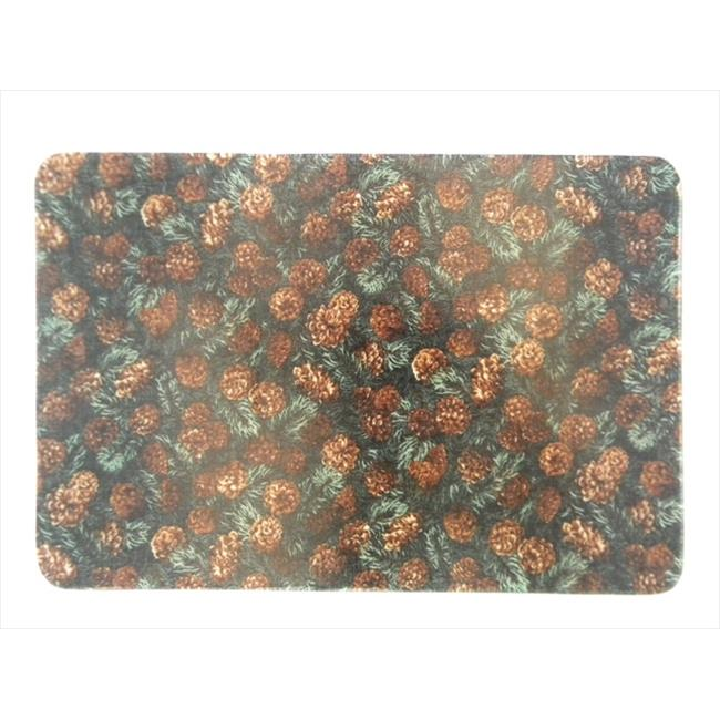 Andreas TR-912 Pinecones Silicone Trivet - Pack of 3 trivets