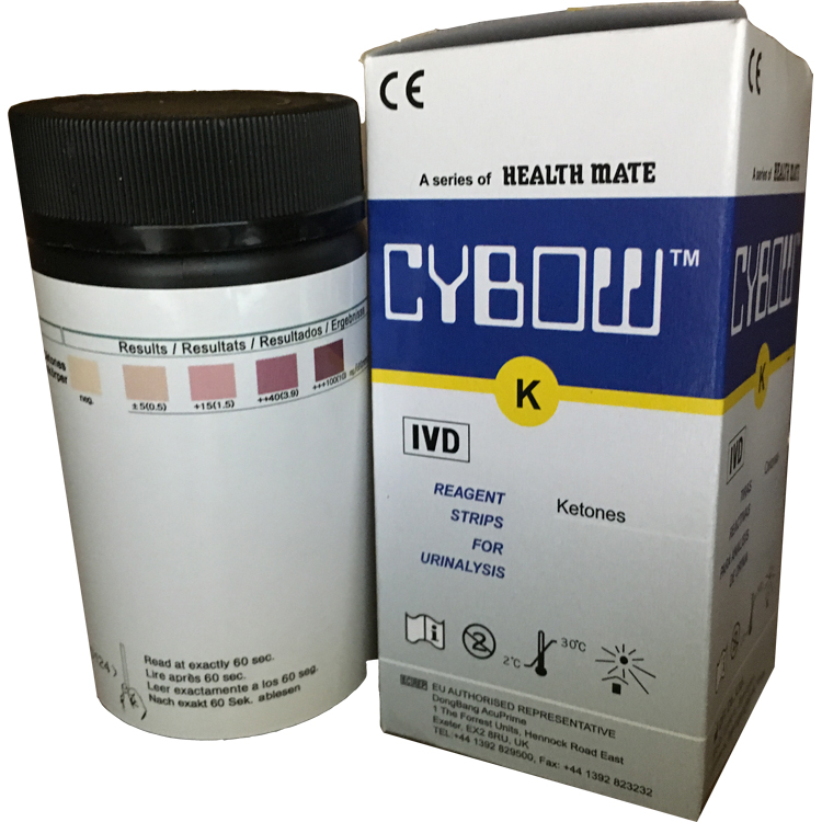 Professional Ketone Test Strips 100 count