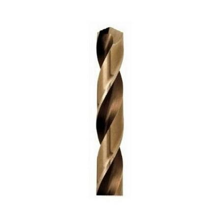 Hanson HAN63120 .31in. Cobalt High Speed Steel Fractional Straight Shank Jobber Length Drill