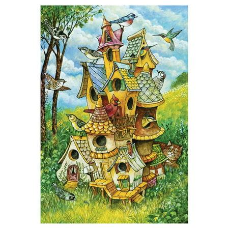 Toland Home Garden Birdhouse Mansion - Copper Mansion Birdhouse