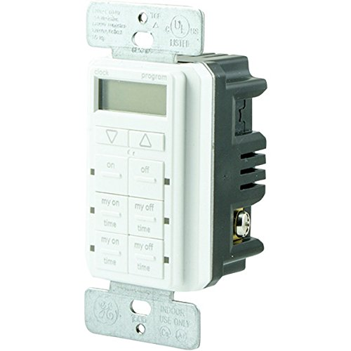 Ge 26893 Mytouchsmart[tm] Digital In-wall Timer