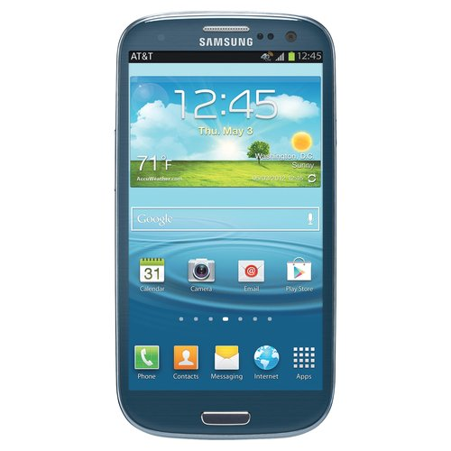 AT&T Samsung Galaxy S III, Blue