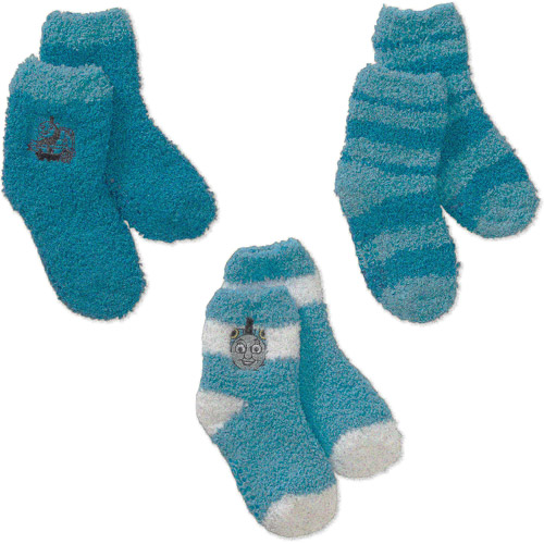 Thomas the Train Baby Toddler Boy Socks, 3-Pack