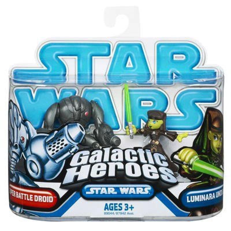 Hasbro Star Wars: Clone Wars Galactic Heroes Super Battle...