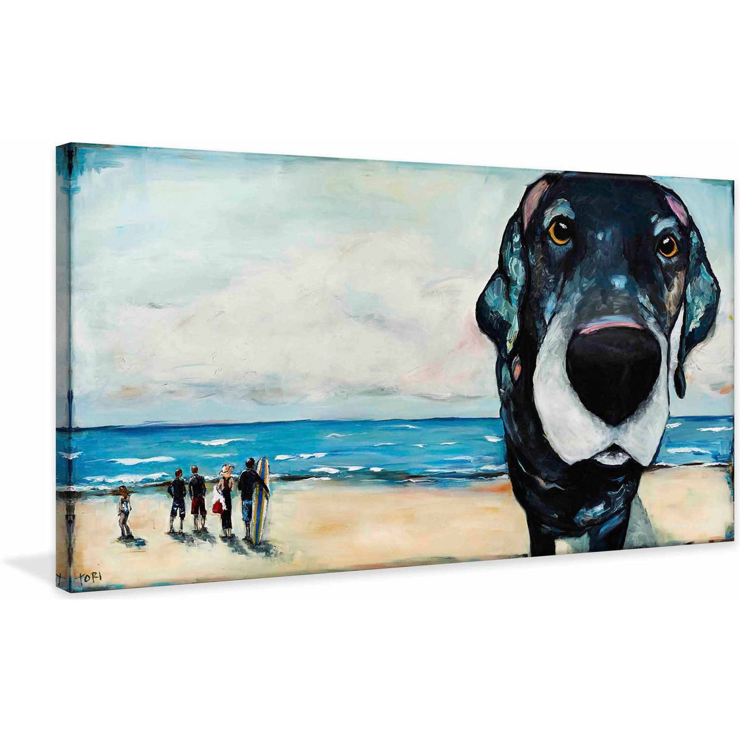 """Marmont Hill """"Macdaddy"""" by Tori Campisi Painting Print on Canvas"""