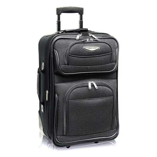 Travelers Choice Travel Select Amsterdam 21 in. Carry-on Lightweight Expandable Rolling Upright Luggage Bag