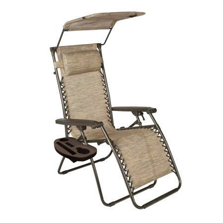 26 Quot Wide Gravity Free Anti Gravity Recliner With Canopy