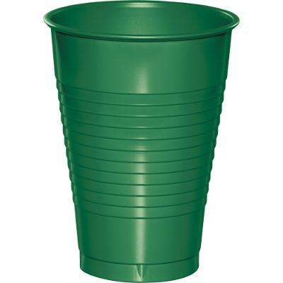 Creative Converting Emerald Green Plastic Cups, 20 ct
