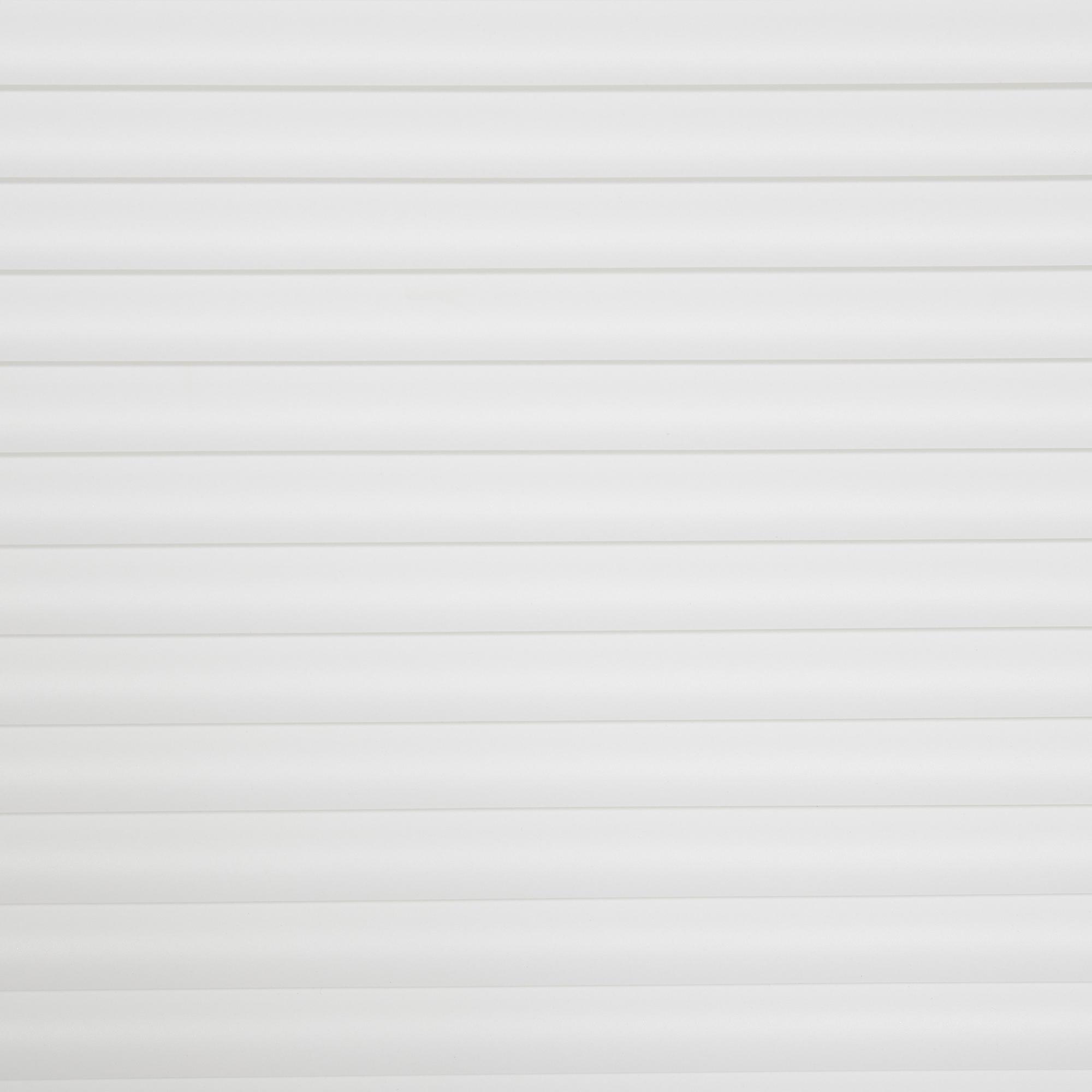 Cordless 1 Inch Light Filtering Mini Blind 47 In W X 64 In L White Multiple Sizes Walmart Com Walmart Com