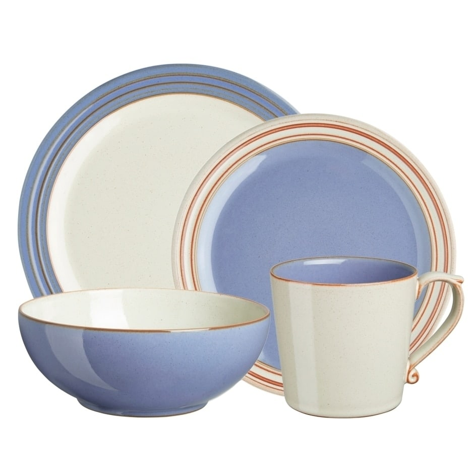 Denby Heritage Fountain 4-Piece Place Setting by Overstock