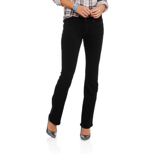 Generic No Boundaries Juniors' Classic Slim Bootcut Jeans