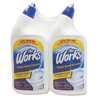 The Works Disinfectant Toilet Bowl Cleaner, 2-Pack ()