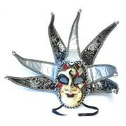 Albergo Costume Mask: Silver