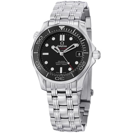 Omega Seamaster Automatic Black Dial Unisex Watch 21230362001002