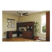 Bush Enterprise Collection 72W x 72D L-Desk, Harvest Cherry (Box 2 of 2)